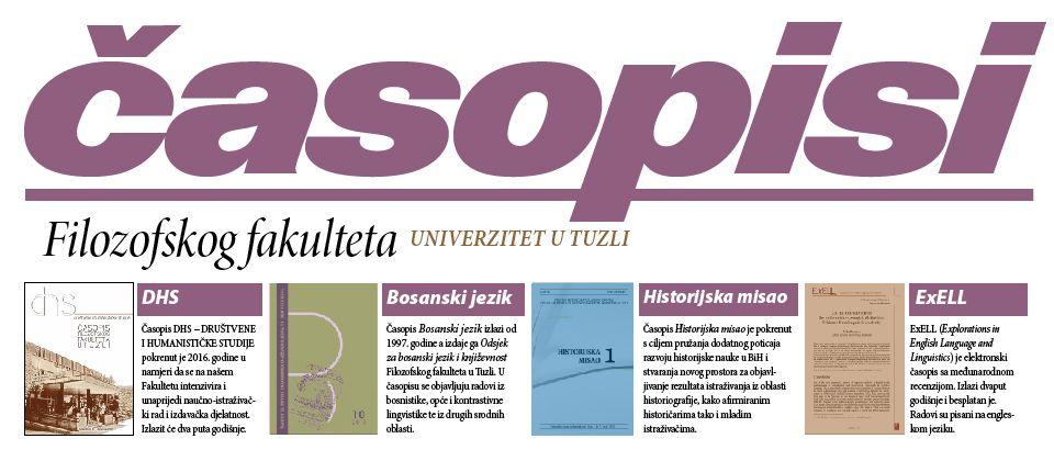 Časopisi Filozofskog fakulteta